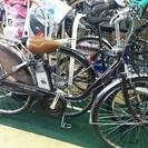 中古車出ました!! miyata 電動アシスト自転車 ブラウン 2...
