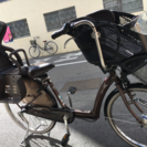 購入者決まりました。子供乗せ自転車 ブリヂストン 3人乗り