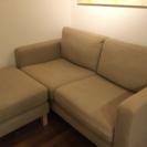 IKEA ブラウンソファ