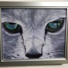 【油絵】猫の目