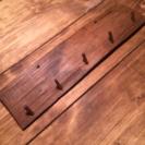 木製 アンティーク 壁掛けフック ハンガーフック