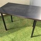 イケア テーブル IKEA オフィス家具 ブラック