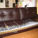 3Pソファベッド 180cm 合成革