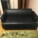 IKEAソファー black