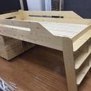 木製ロフトベッド セット 売ります