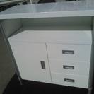 重量有 ホワイト 食器棚 収納棚 収納ケース