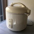 SHARP・レトロ炊飯器5合炊き