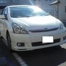 【値下げ】ウィッシュ 車検付き サンルーフ HDDナビ エアログレード
