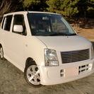 ワゴンR FT-Sリミテッド ☆ターボ 人気のパールホワイト