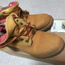 Timberland レディース ブーツ(箱つき・おまけつき)