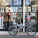 新車販売 20型折りたたみ自転車 カラーガンメタ 近隣地域配送可能...