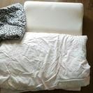 掛け布団、シーツ、枕セットで