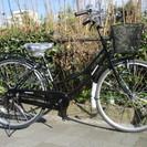 ♪ジモティー特価♪ 新品  定番の黒 26型ファミリーサイクル 台...