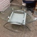 ニトリガラステーブル センターテーブル