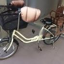 子供乗せ自転車 マンマDX