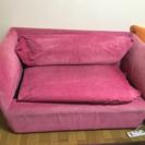 francfranc ピンクのラブソファ 20,000円