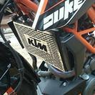 KTM 390 duke ラジエターコアガード 新品未使用