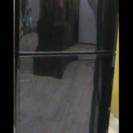 三菱 冷蔵庫 MR-14P-B 2009年 ブラック 黒 2ドア ...