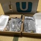 WiiU プレミアムセット 白 ほぼ新品 新品コントローラー付き