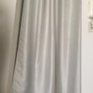 【値下】ハトメ間仕切りカーテン★アイボリー