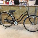 3段変速 オートライト 自転車 黒