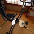 新品 エアロバイク(折りたたみ式)でお手軽フィットネス!