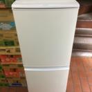 美品 SHARP SJ-14-Y 2ドア 冷蔵庫 13年 137L