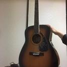 YAMAHAギター fG-422 カポ&バック付