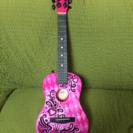 子供用 ギター ピンク