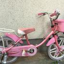 自転車 16インチ 3-6歳用ぐらい 補助輪なし