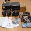 【値下げしました】Nikon D3000レンズキット + DX 3...