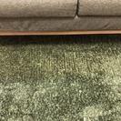 《ニトリ》2人掛けソファー×2台+じゅうたんセット