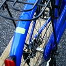 ママチャリ 26インチ 青 - 自転車
