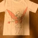 ティンカーベルのTシャツ