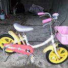14インチ女の子用自転車の画像
