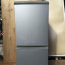 SHARP 135L 2ドア冷凍冷蔵庫 SJ-14M