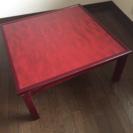 値下げしたテーブルの画像