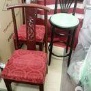 中国椅子 カウンターチェア 3脚セット  - 相模原市