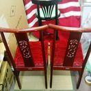 中国椅子 カウンターチェア 3脚セット  − 神奈川県