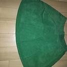 【新品】Mサイズ スカート グリーン