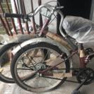 未使用折畳み自転車