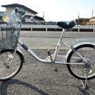 20インチの自転車、シルバー