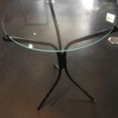 ガラステーブル コーヒーテーブル サイドテーブル