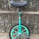 ☆緑色の一輪車☆16インチ