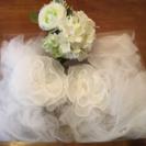 【美品】結婚式、パーティ用ショール