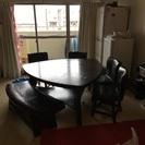 ダイニング   テーブル  椅子 定価13万です。