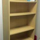 【元値5万円】大容量 木製本棚 棚可変