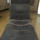 モダンデザイン ダークブラウン座椅子