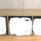 3段カラーボックス