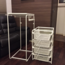 IKEA イケア  アルゴット 収納 メッシュ カゴ ハンガー